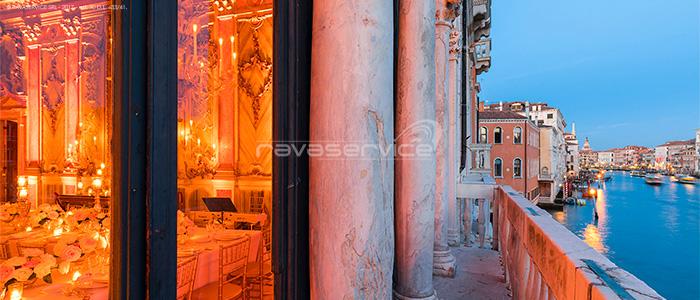 palazzo pisani moretta allestimento luci