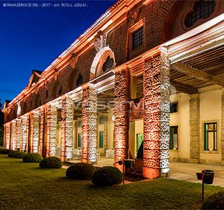 villa montruglio illuminazione luci eventi cena gala