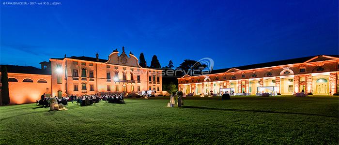 villa montruglio illuminazione luci matrimonio giardino