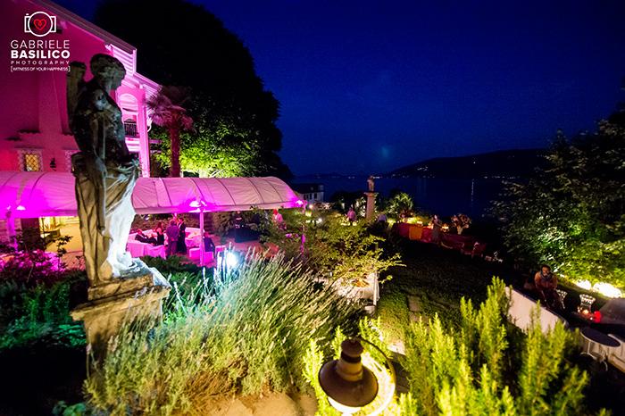 villa angelo garini cà bianchetti birthday lago maggiore illuminazione