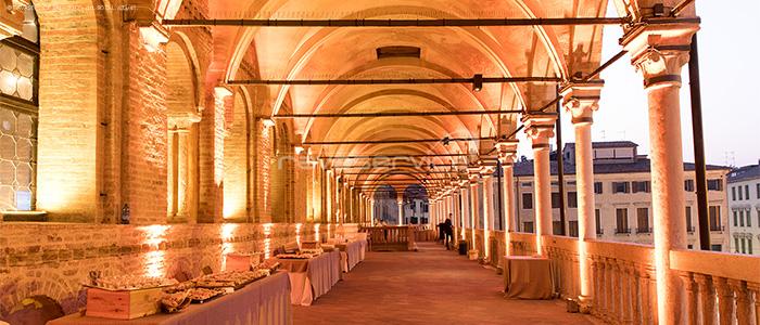 service audio video luci allestimento illuminazione Padova palazzo ragione