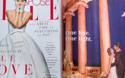 Ravaservice sull'ultimo numero di Elle Spose