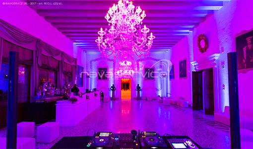 Castello di San Salvatore, illuminazione, luci, Light Design, evento, matrimonio