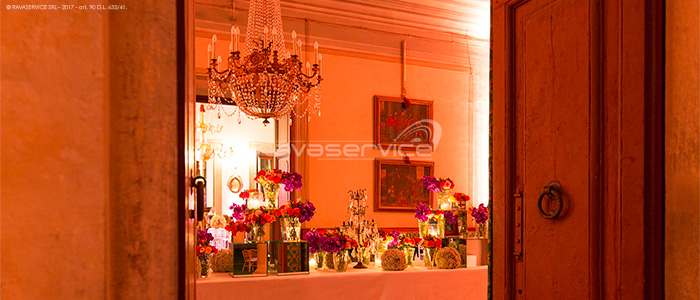Maiano's Villa, Light Design, lighting, lights, event, wedding