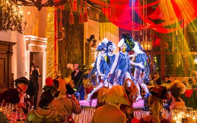 Gold Carnival at Palazzo Contarini Polignac