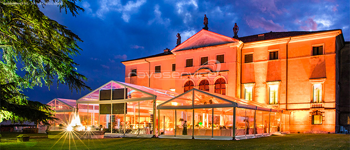 villa la favorita vicenza ravaservice scenographic lighting corporate events
