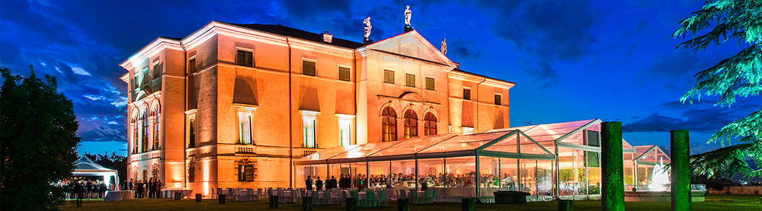 A luxurious corporate party in a Palladian villa in Vicenza