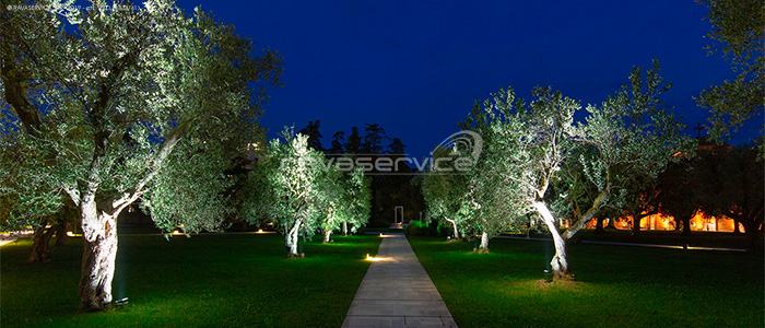 event party lighting venice