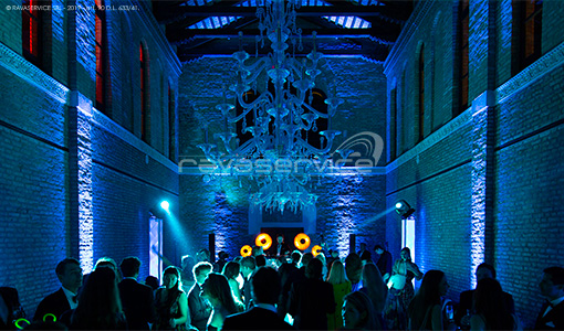 event party wedding light design venice