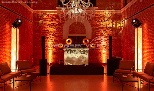evento party vintage lamp light design