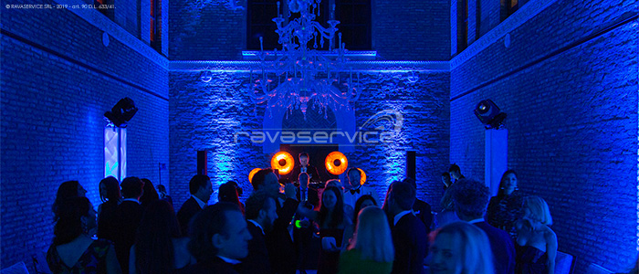light design vintage illuminazione evento