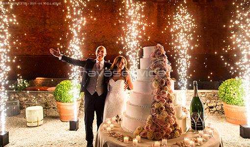 illuminazione evento matrimonio sparkular