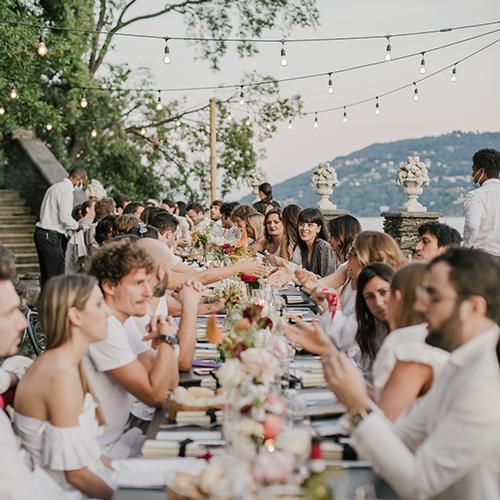 Laura Comolli lago maggiore festa compleanno luci ravaservice lampadine