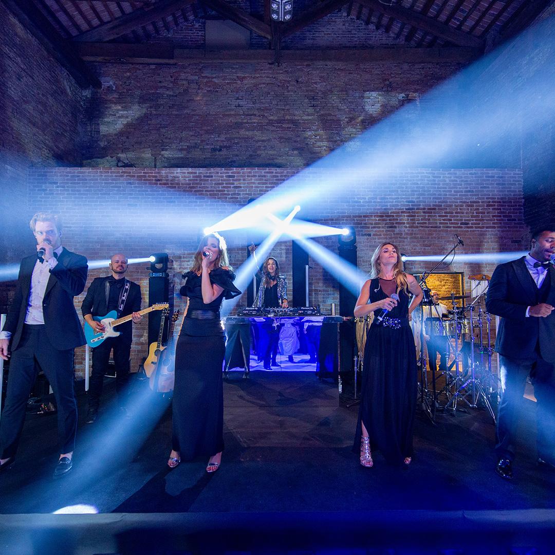 luci per matrimonio dancefloor concerto audio service