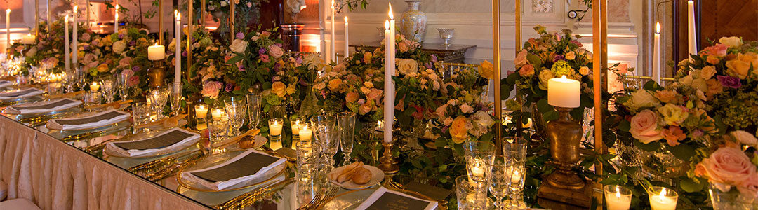 5 original ideas for making the floral decorations of your wedding
