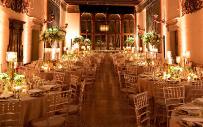 How to light up the wedding tables