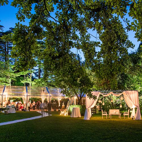 Luci per alberi da giardino consigli matrimonio