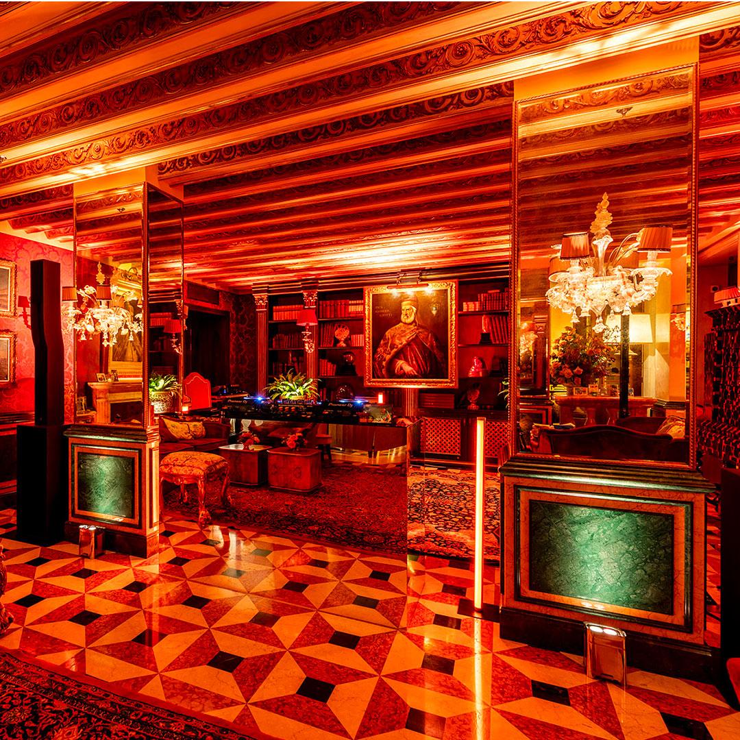 evento Gritti Palace Venezia illuminazione