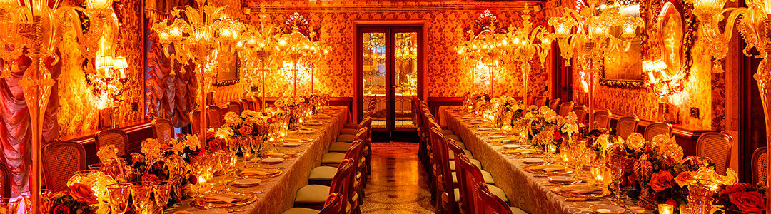 An exclusive party at Gritti Palace Hotel