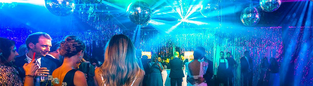Let's talk about weddings: the perfect lighting for your party